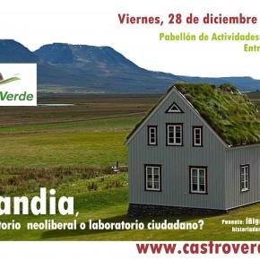 Charla: Islandia: ¿laboratorio neoliberal o laboratorio ciudadano?