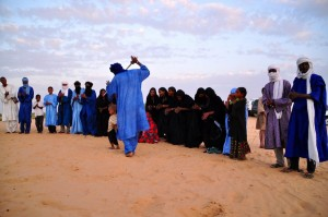 Tuaregs del norte de Mali. Foto de Picturec