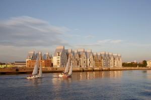 El ecobarrio de Grand Large-Neptune, en la ciudad francesa de Dunkerkque es uno de los últimos ejemplos de urbanismo más logico y humano.