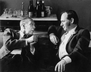 Ballard con Borges en lso años 70. ¿Pura coincidencia?