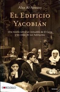 Portada de la edición española del libro de Alaa El Aswani.