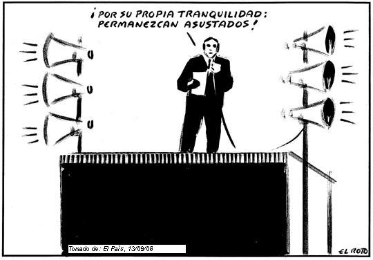 Más pinceladas de sabiduría. EL Roto, Fuente El País.
