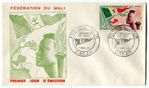 Sello de la Federación de Mali 1959-60.