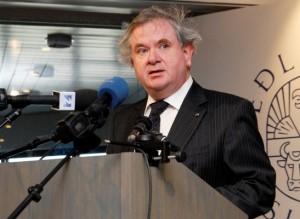 David Oddsson, presidente del Banco central Islandés hasta 2009, uno de los responsables de la crisis financiera.