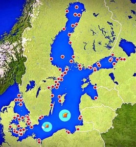 El Mar Báltico, un vertedero de munición química y convencional.