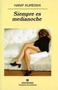 Portada española de Siempre es Medianoche, de Anagrama.