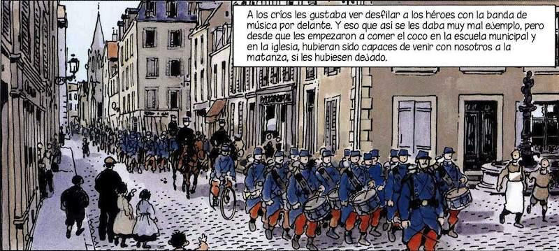 Tardí, dibujante francés ha relatado las miserias de la IGM combatiendo el patriotismo y la ceguera.