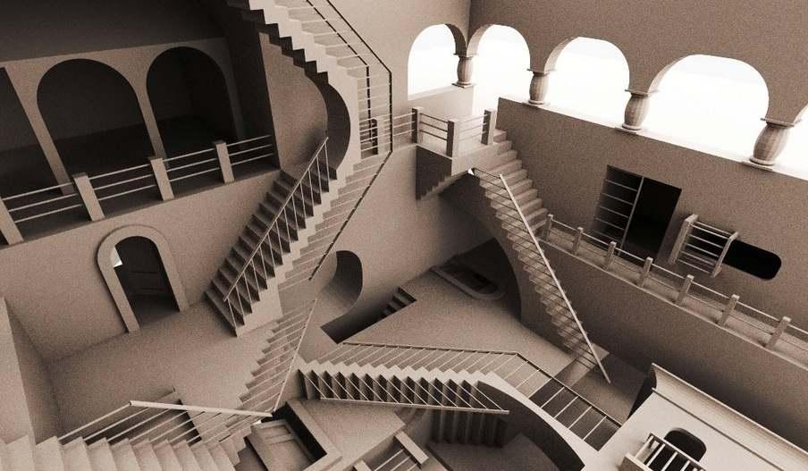 Una paradoja espacial y sensorial, una muestra visual del poder del arte.